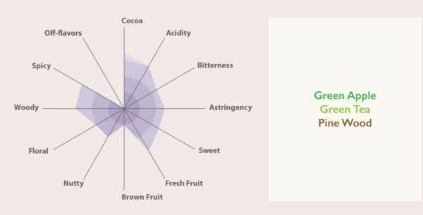 Auro Regalo - tasting diagram