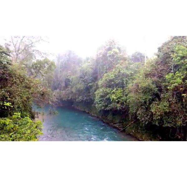 Georgia Ramon - Guatemala - rio Cahabón