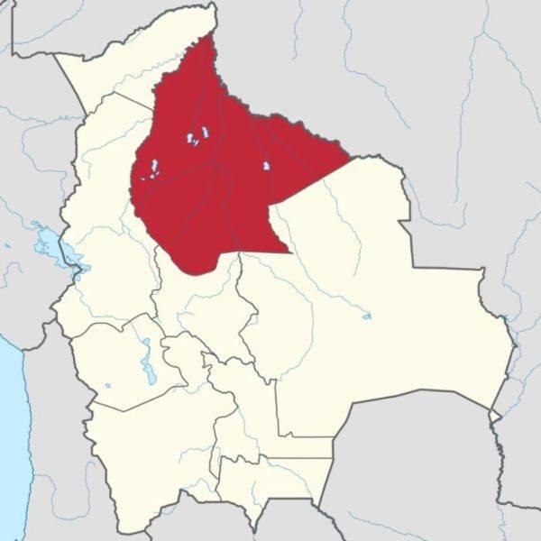 GR Beni map