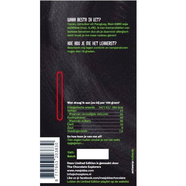 Mesjokke - limited edition no no no - back NL 850x850