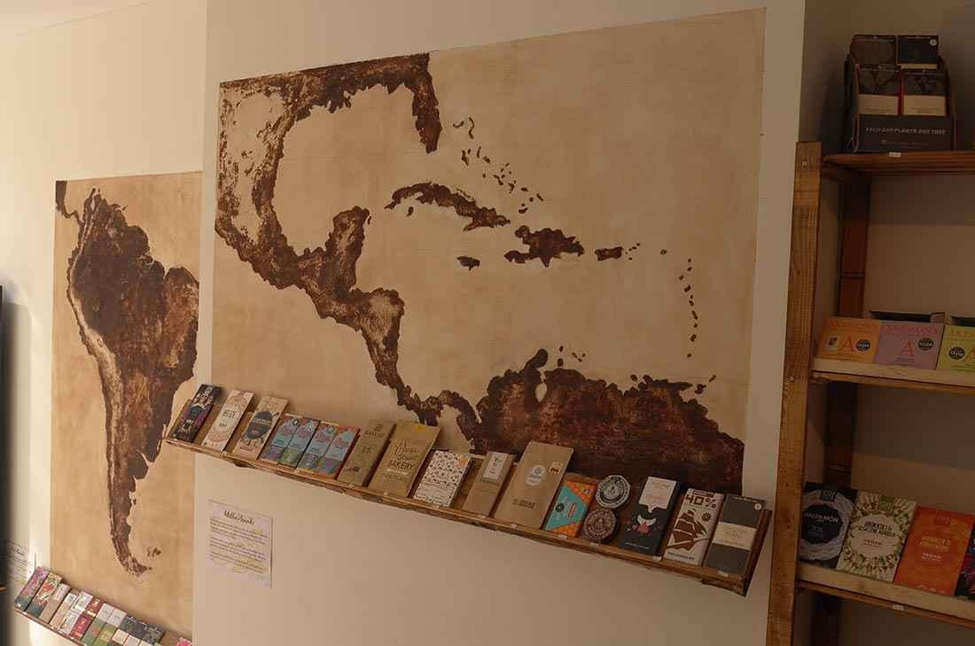 muurschildering cacaomuseum