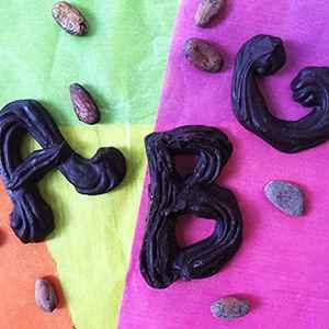 (h)Eerlijke chocoladeletters: maak ze zelf