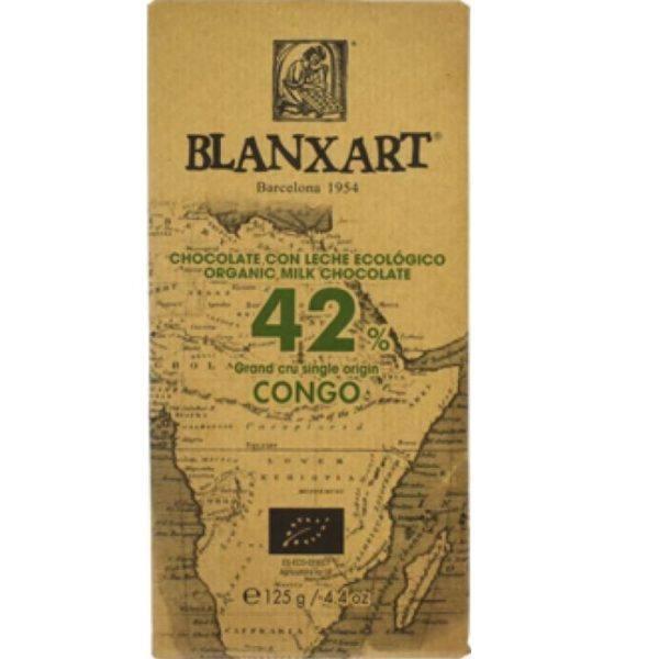 Blanxart Congo milk 42 - front