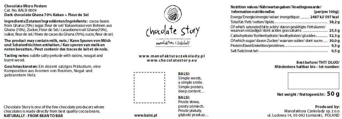 Chocolate Story - Ghana Fleur du Sel - back 1100x383
