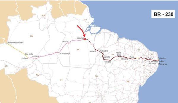 Georgia Ramon Brasilien 73 - Rodovia Trans Amazonica BR-230