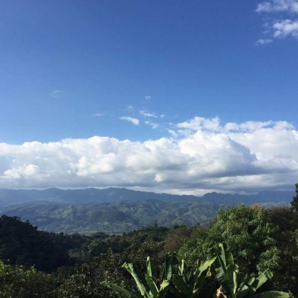 Guatemala Alta Verapaz jungle skyline 2