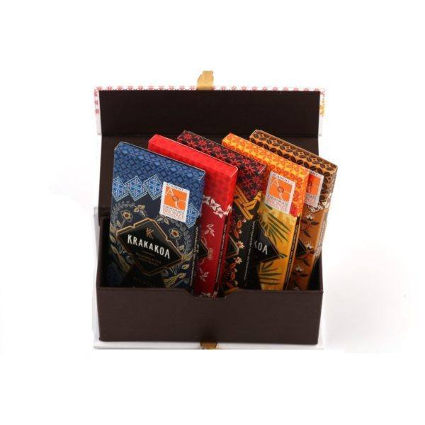 Krakakoa gift box - open 2
