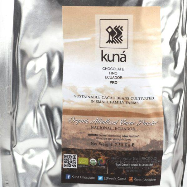 Kuná cacao powder alkalized 2,5 kg - detail