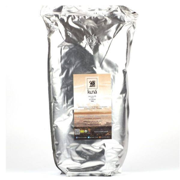 Kuná cacao powder natural 2,5 kg - bag