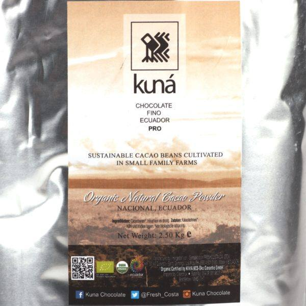 Kuná cacao powder natural 2,5 kg - detail
