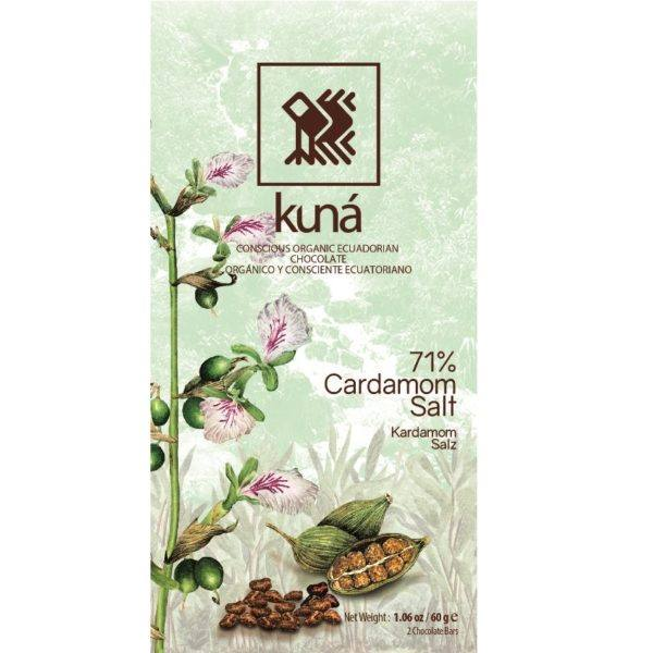 Kuna cardamom 71 60 gr - front