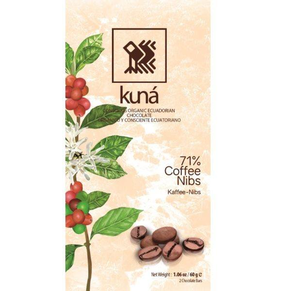Kuna coffee 71 60 gr - front