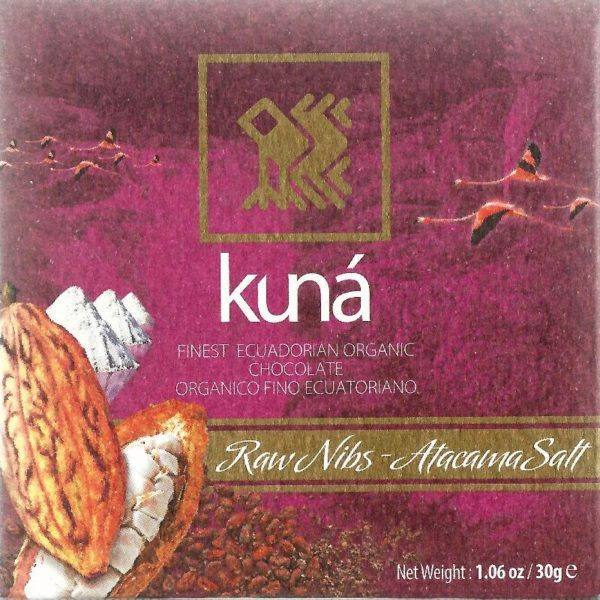 Kuna - raw nibs and salt - front 800x800