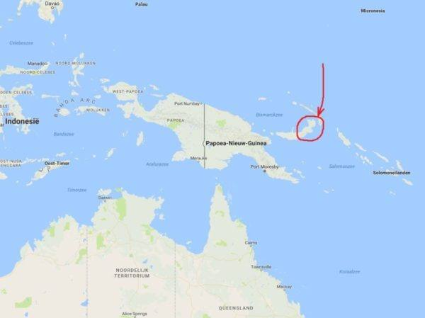 Morin-New Guinea - East New Britain