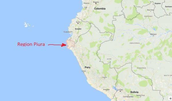 Morin - Piura - map