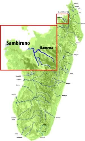 Sambirano rivier - kopie