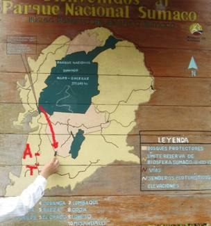 kaart sumaco